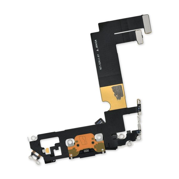 iPhone 12 mini Lightning Connector Assembly / Black