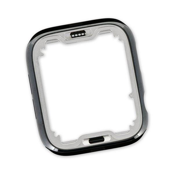 """Apple Watch (44 mm Series 6) Stainless Steel Frame / Dark Gray """"Graphite"""""""