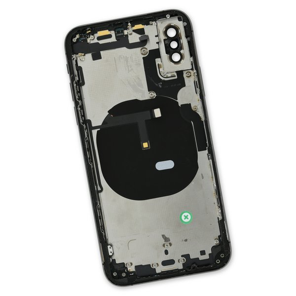 iPhone XS OEM Rear Case / A-Stock / Black