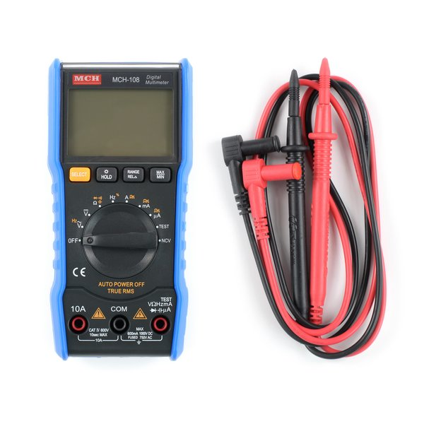 Digital Multimeter / Blue MCH 108