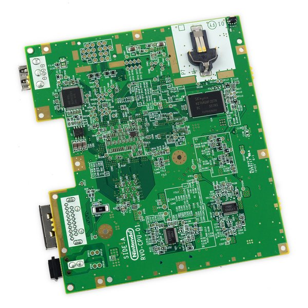 Nintendo Wii mini Motherboard & Paired Optical Drive