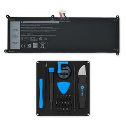 Dell XPS 12 9250 Battery / New / Fix Kit