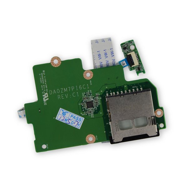 Dell Chromebook 11 CB1C13 SD Card Reader and LED Board