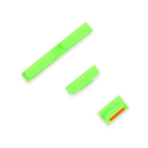 iPhone 5c Case Button Set / Green
