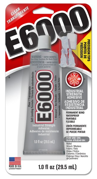 E6000 Adhesive Glue / 29.5 mL