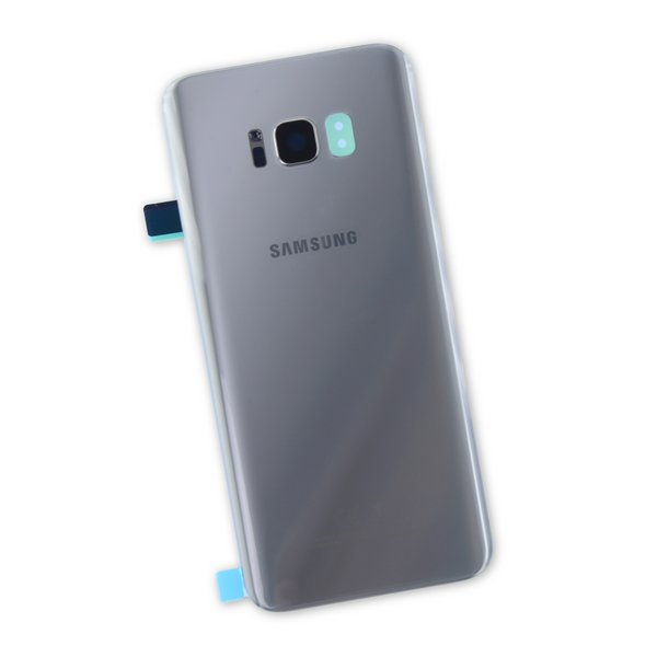 Galaxy S8+ Rear Glass Panel/Cover - Original / Silver / Part Only