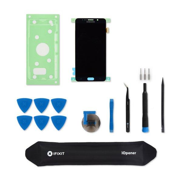 Galaxy Note5 Screen / Black / Fix Kit