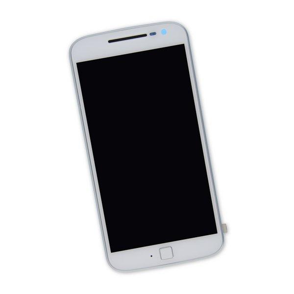 Moto G4 Plus Screen / White / Part Only