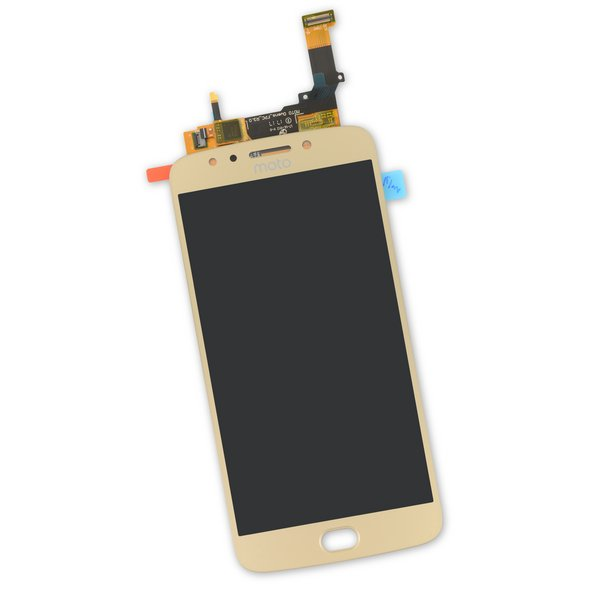 Moto E4 Plus LCD and Digitizer / Gold