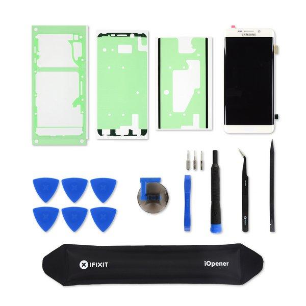 Galaxy S6 Edge+ Screen / White / Fix Kit