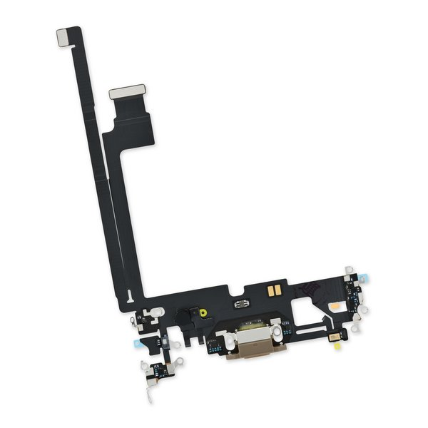 iPhone 12 Pro Max Lightning Connector Assembly / New / Gold
