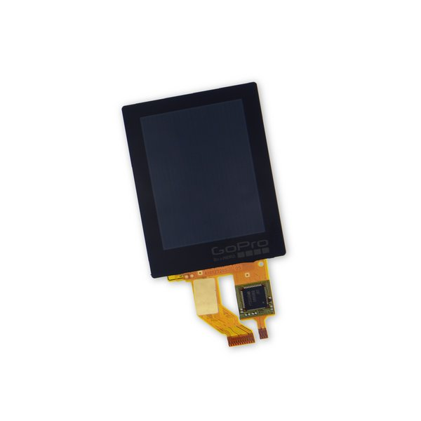 GoPro Hero4 Silver Rear Display