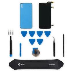 Moto G5 Plus Screen / Black / Fix Kit v3 / driver + SIM Tool