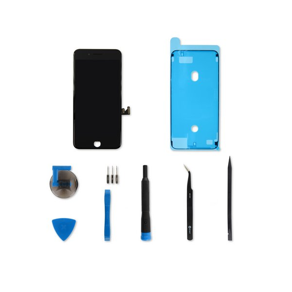 iPhone 8 Plus Screen / Black / Fix Kit