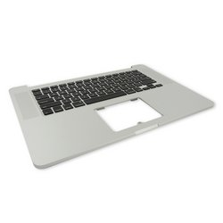 "MacBook Pro 15"" Retina (Mid 2012-Early 2013) Upper Case Assembly / A-Stock / No Trackpad or Battery"