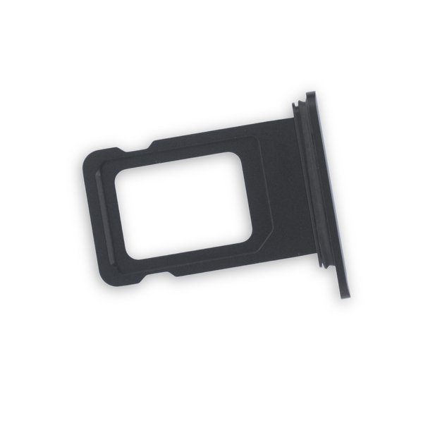 iPhone XR Single SIM Card Tray / Black