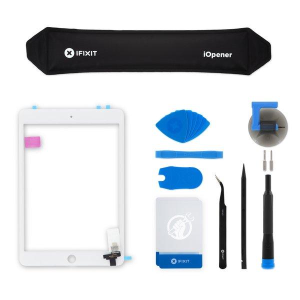 iPad mini 3 Screen Digitizer / New / Fix Kit / White