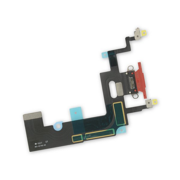 iPhone XR Lightning Connector Assembly / Red