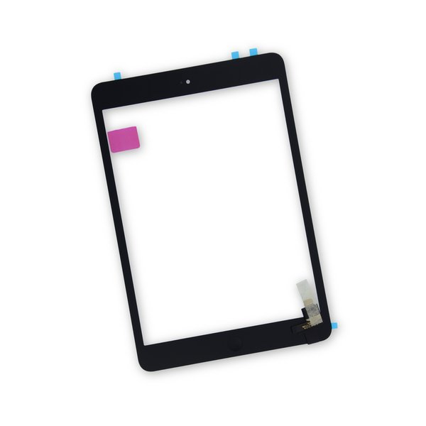 iPad mini 1/2 Screen Digitizer / New / Part Only / Black / With Adhesive