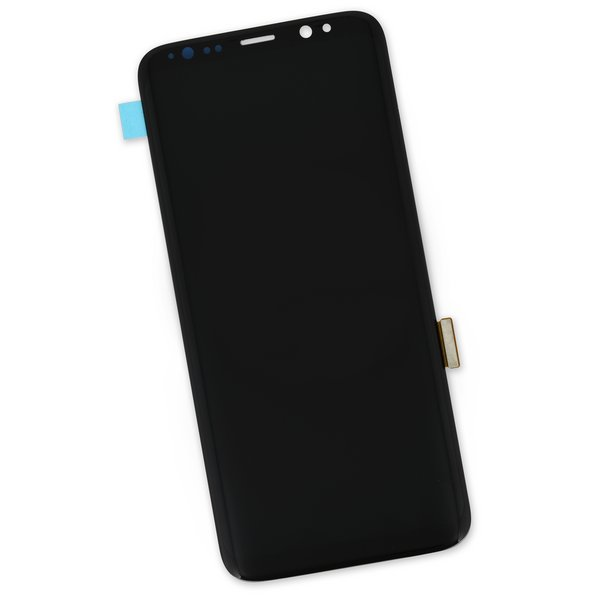Galaxy S8 Screen / Black / Part Only / New