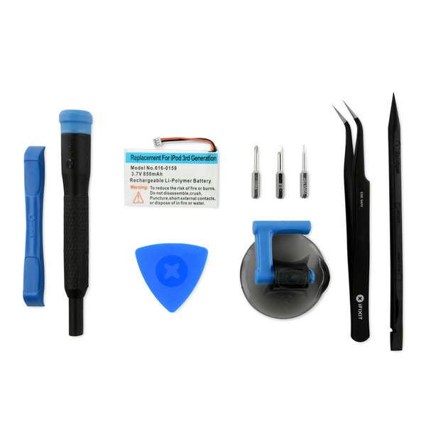 iPod 3G Battery / Fix Kit