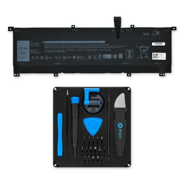 Dell XPS 15 9575 Battery / Fix Kit