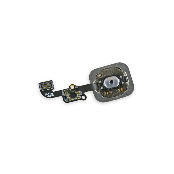 iPhone 6 and 6 Plus Home Button Assembly / New / Black / Part Only