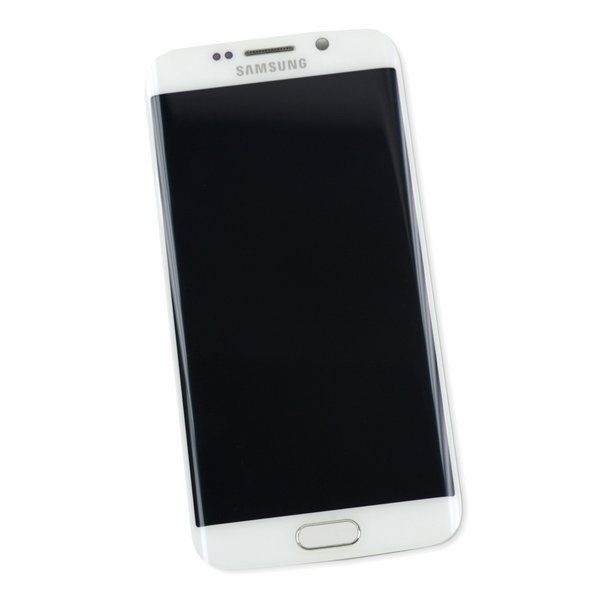 Galaxy S6 Edge (CDMA) Screen Assembly / White / A-Stock
