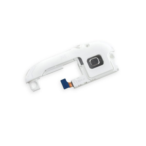 Galaxy S III Headphone Jack and Speaker Assembly / White