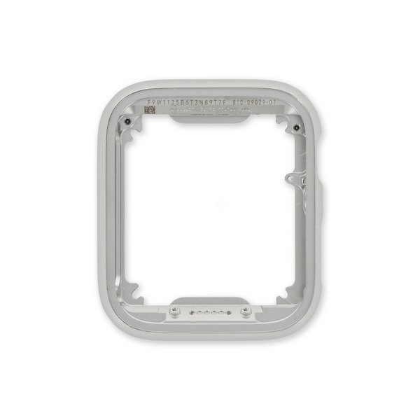 Apple Watch (40 mm Series 6) Frame with Button / New / Silver