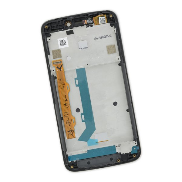 Moto C Plus Screen / Gold / Part Only