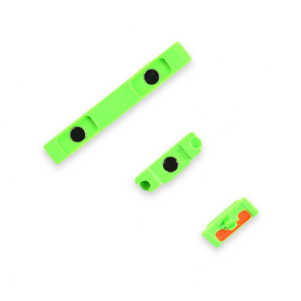 iPhone 5c Case Button Set / Green