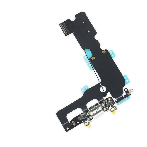 iPhone 7 Plus Lightning Connector Assembly / White / New / Part Only