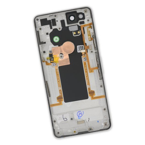 Google Pixel 2 Rear Case / A-Stock / White