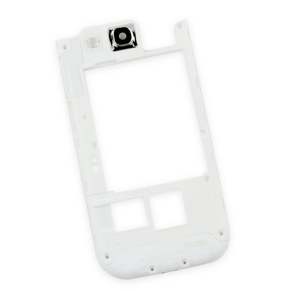 Galaxy S III Midframe (T-Mobile) / White / A-Stock