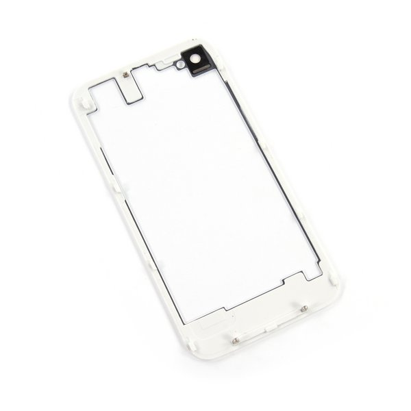iPhone 4S Transparent Rear Panel / White / Part Only