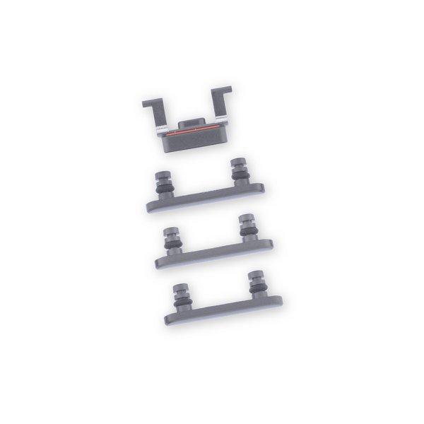 iPhone 8 Case Button Set / Black