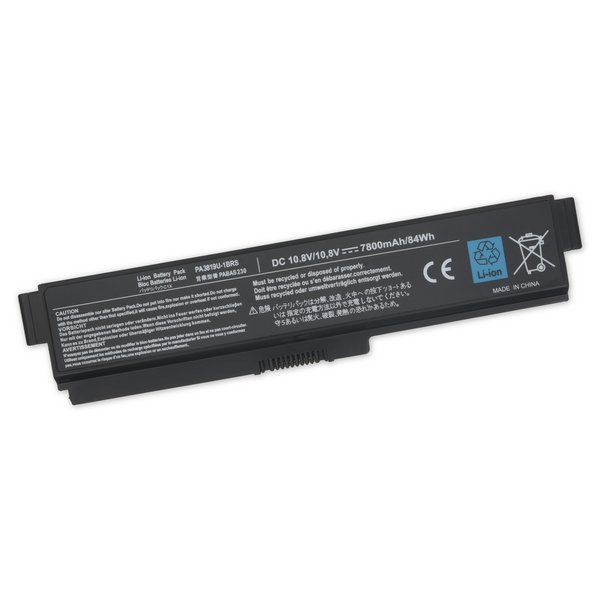 Toshiba Satellite L300, M300, and M800 Series Laptop Battery / High Capacity