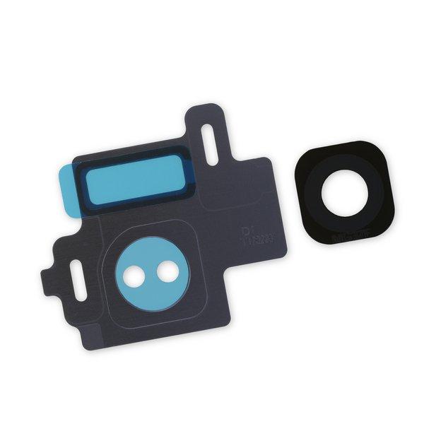Galaxy S8 Rear Camera Bezel & Lens Cover / Gray / Part Only