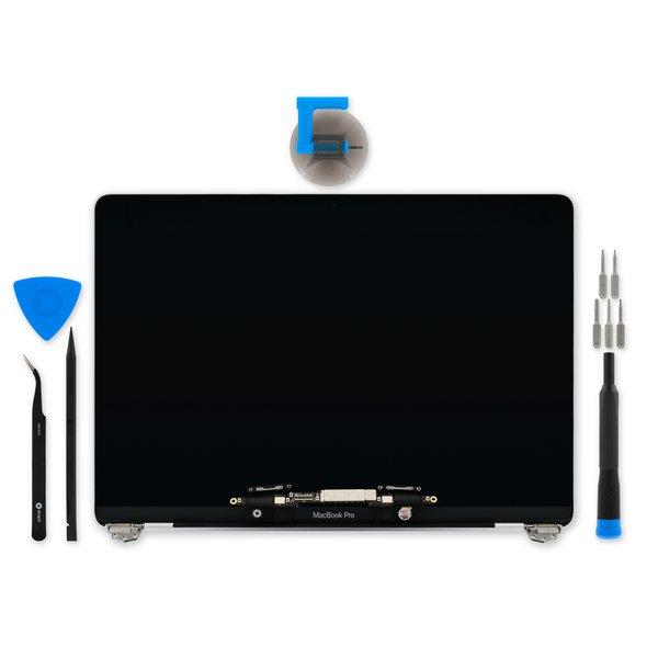 "MacBook Pro 13"" Retina (Late 2016-2017) Display Assembly / Premium / Fix Kit / Silver"