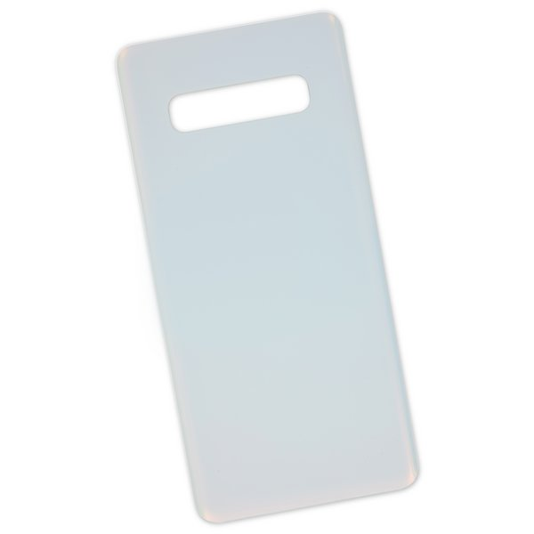 Galaxy S10+ Rear Glass Panel/Cover / White