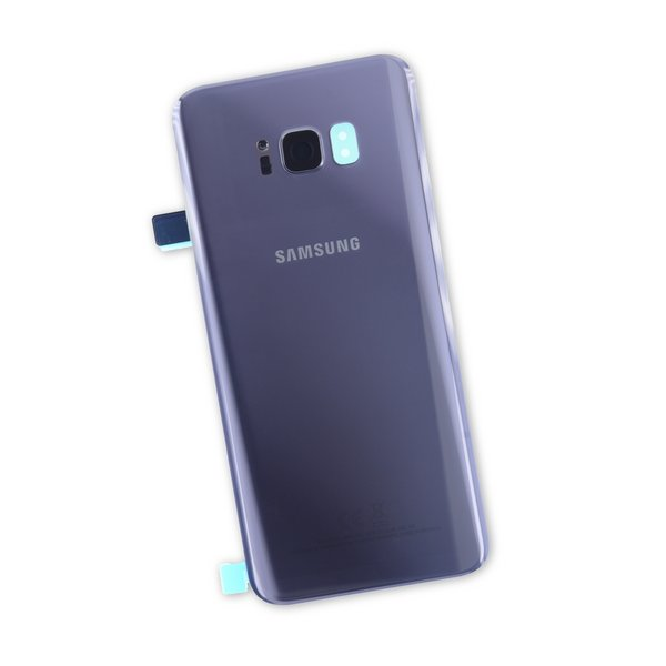 Galaxy S8+ Rear Glass Panel/Cover - Original / Gray / Part Only
