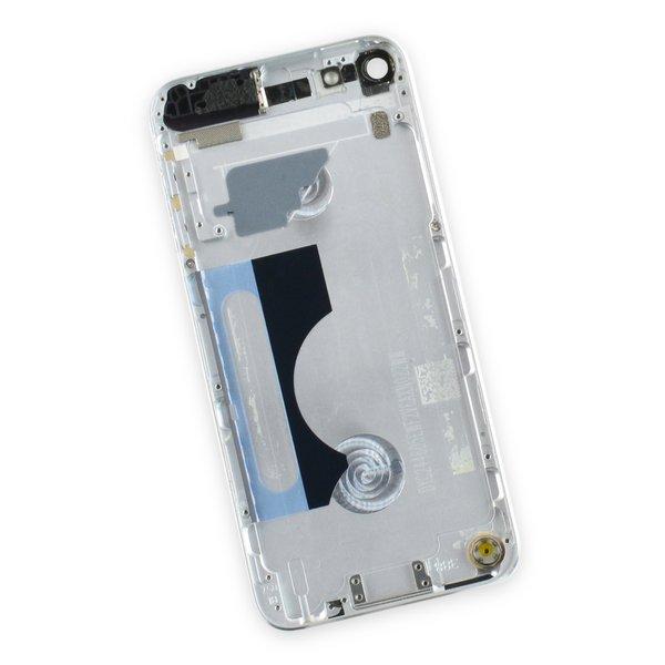 iPod touch (model A1421 5th Gen) Used OEM Rear Panel / Silver / B-Stock