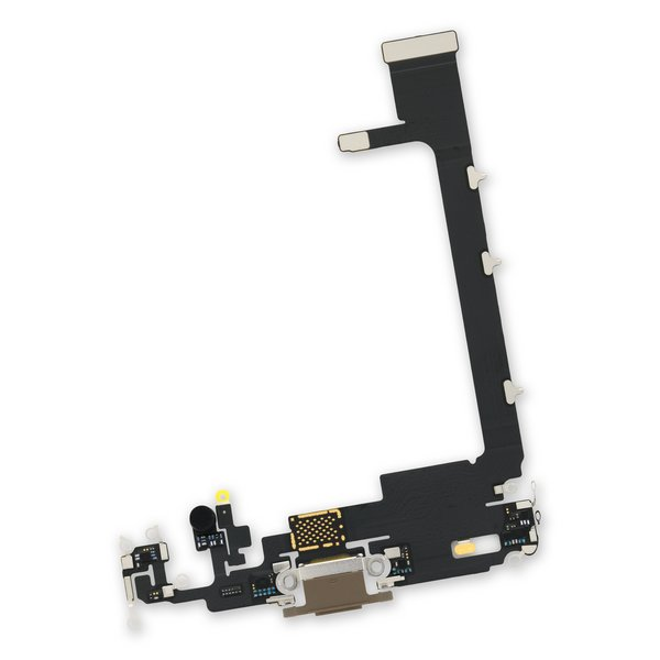 iPhone 11 Pro Max Lightning Connector Assembly / New / Brown / Without PCB