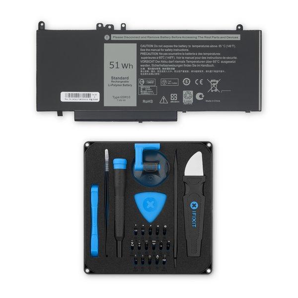Dell Latitude 3150/3160/E5250/E5450/E5550 7.4V Laptop Battery / Fix Kit