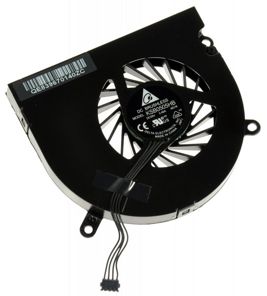 "MacBook Pro 15"" (Late 2008-Mid 2012 excluding Mid 2009 2.53 GHz) Right Fan"