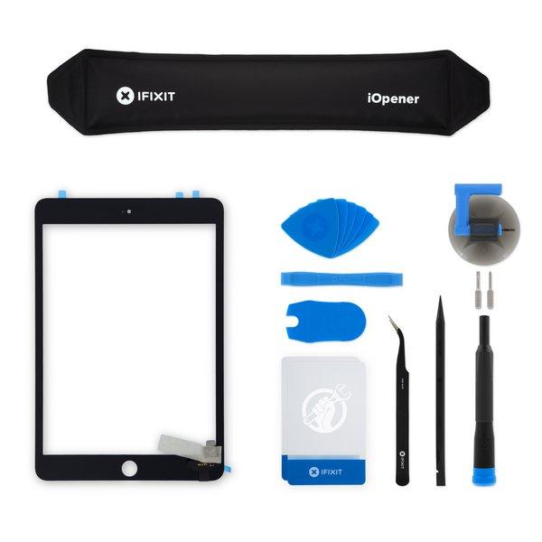 iPad mini 3 Screen Digitizer / New / Fix Kit / Black