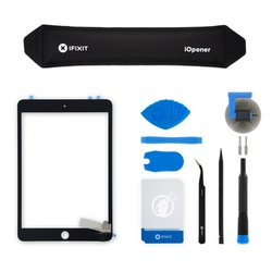iPad mini 3 Screen Digitizer / New / Fix Kit / Black