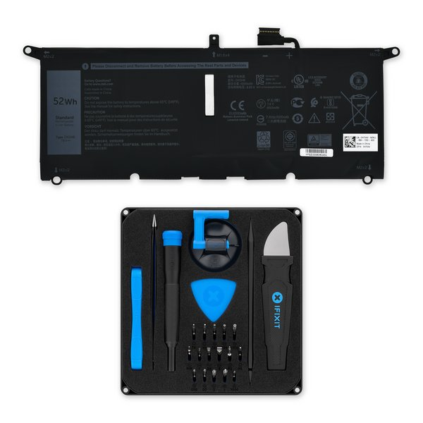 Dell XPS 13 7390, 9370, and 9380 Battery / Fix Kit