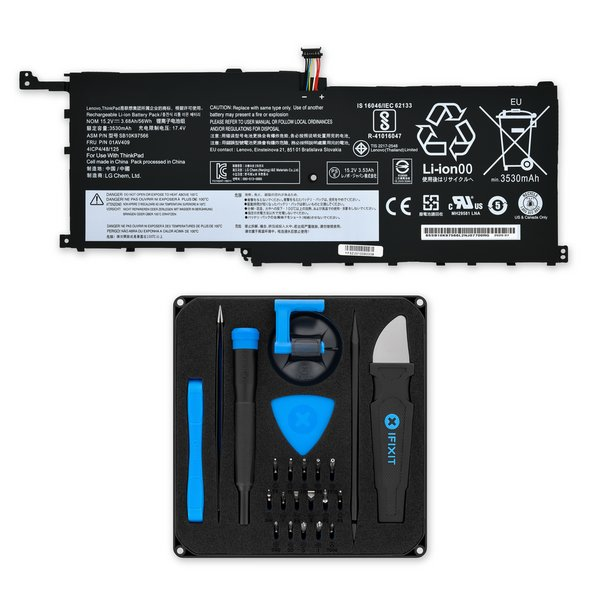 Lenovo ThinkPad X1 Yoga 1st Gen and X1 Carbon 4th Gen 56Wh Battery / Fix Kit